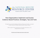 How Organizations Implement and Sustain Evidence-Based Practices: Strategies, Tips, and Tools