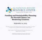 Funding and Sustaining Mentoring Programs