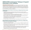 """Taking Action: Continuing the """"Pathways to Prosperity"""" Conversation in Your Jurisdiction"""