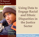 Identifying Racial and Ethnic Disparities in the Criminal and Juvenile Justice Systems through Data Collection
