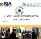 Vermont Department of Corrections' Four-Step Process for Effective Policy Development