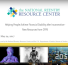 Helping People Achieve Financial Stability after Incarceration