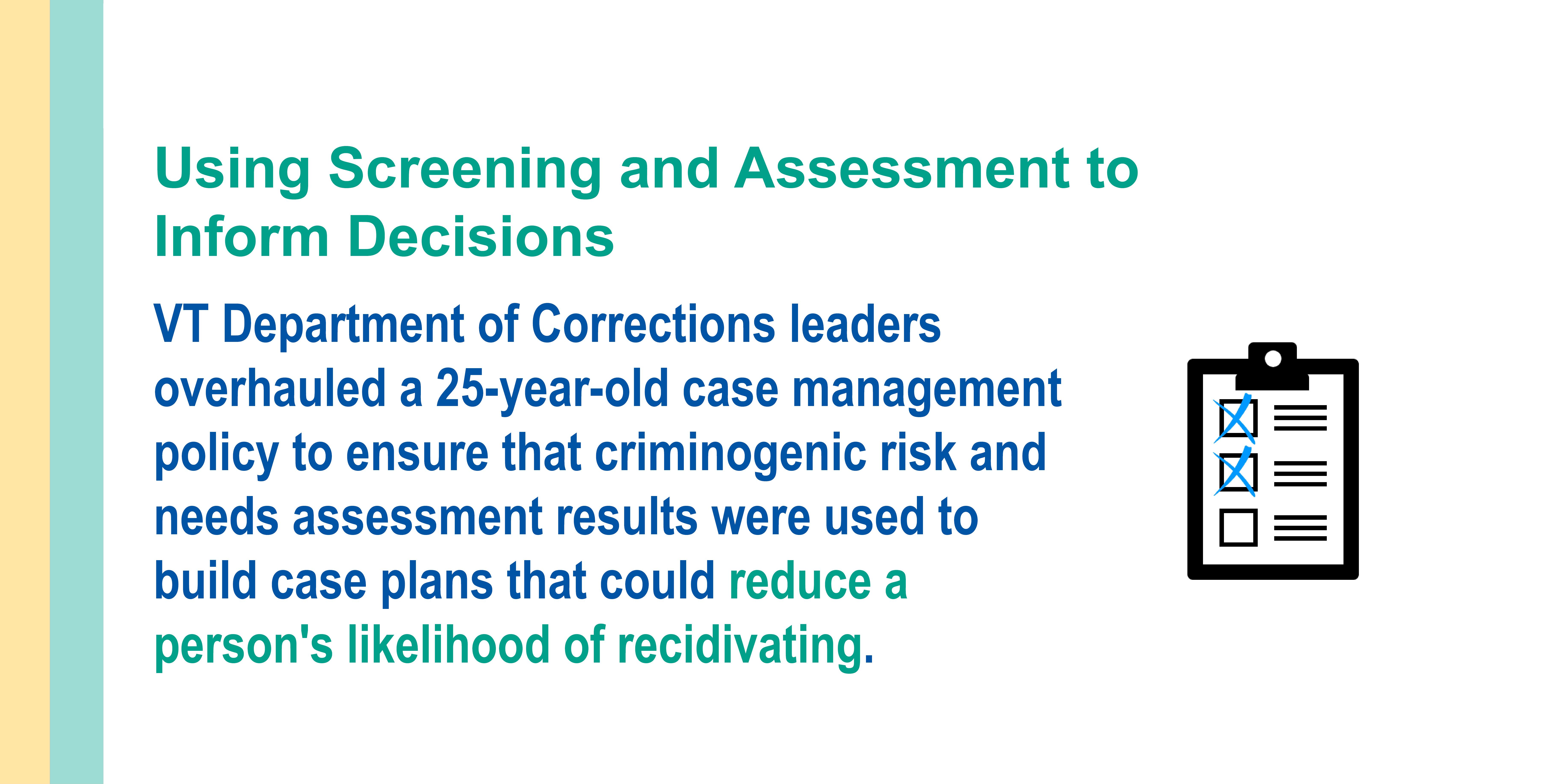 Vermont SRR_Screening and assessment slide